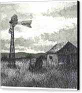 Prairie Farm Canvas Print by Jonathan Baldock