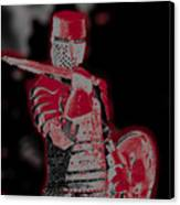 Red Knight Canvas Print