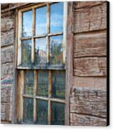 Reflections Of Time Canvas Print by Sandra Bronstein