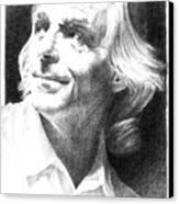 Rick Wright Of Pink Floyd Canvas Print by Liz Molnar