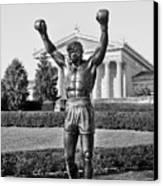 Rocky Statue - Philadelphia Canvas Print