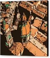 Roofs Of Bologna Canvas Print