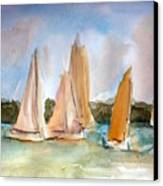 Sailing  Canvas Print by Julie Lueders