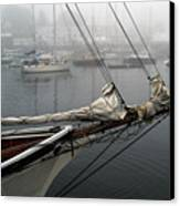 Sailing On Hold Canvas Print