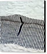 Sandfence Canvas Print