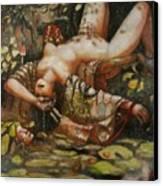Save Me Canvas Print by Ralph Nixon Jr