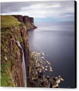 Scotland Kilt Rock Canvas Print by Nina Papiorek