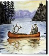 Solitude Canvas Print by Jimmy Smith