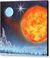 Space Art 2 Canvas Print by Lane Owen