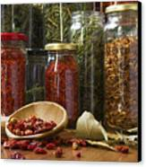 Spicy Still Life Canvas Print by Carlos Caetano