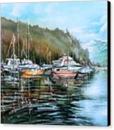 Spring Deep Cove  Canvas Print
