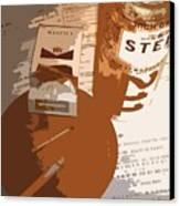 Steel Reserve Canvas Print