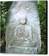 Stone Buddha  Canvas Print