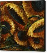 Sunflowers Canvas Print by Michael Lang