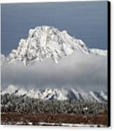Sunrise In Grand Teton National Park Canvas Print by Pierre Leclerc Photography