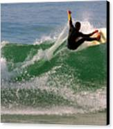 Surfer Canvas Print by Carlos Caetano