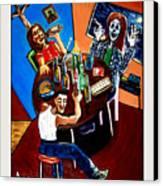 Tears 'n Beers Canvas Print
