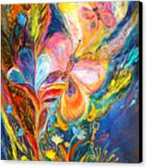 The Butterflies Canvas Print by Elena Kotliarker
