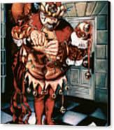 The Jesterook Canvas Print