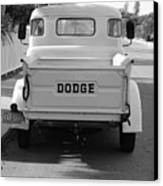 The Old Dodge  Canvas Print