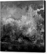 The Storm Canvas Print by Wolfgang Schweizer