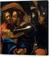 The Taking Of Christ Canvas Print