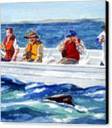 The Whale Watchers Canvas Print