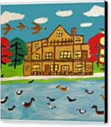 The Wildlife Hotel Canvas Print