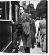 Thomas Wolfe (1900-1938) Canvas Print by Granger