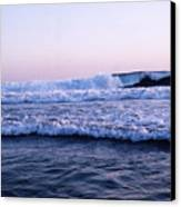 Three Waves Canvas Print