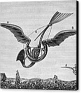 Trouv�s Ornithopter Canvas Print