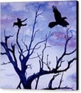 Twilight Flight Canvas Print