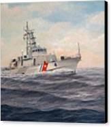 U. S. Coast Guard Cutter Monsoon Canvas Print