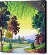 Verde Que Te Quero Verde Canvas Print