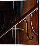 Violin Canvas Print by Nichola Evans