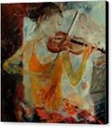 Violinist 67 Canvas Print