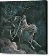 Vision Of Death Canvas Print