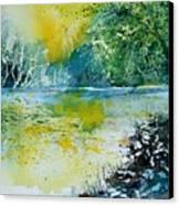 Watercolor  051108 Canvas Print