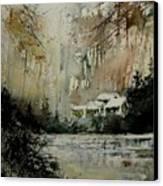 Watercolor  070608 Canvas Print