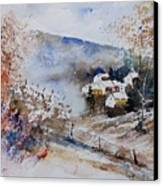 Watercolor 902091 Canvas Print