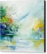 Watercolor 903022 Canvas Print