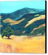 Western Hills Canvas Print