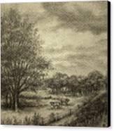Wickliffe Landscape  Canvas Print