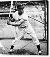 Willie Mays (1931- ) Canvas Print by Granger