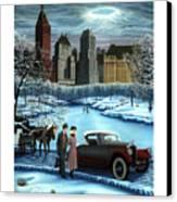 Winter Wonderland Canvas Print by Tracy Dennison