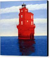 Wolf Trap Lighthouse Canvas Print