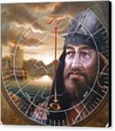 World Unification Gold Or Sea Captain Canvas Print