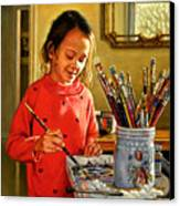 Young Artist Canvas Print