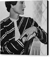 Duchess Of Windsor Wallis Simpson Canvas Print