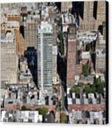 1708 Rittenhouse Square Street Philadelphia Pa 19103 6150 Canvas Print by Duncan Pearson